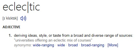 eclectic-definition