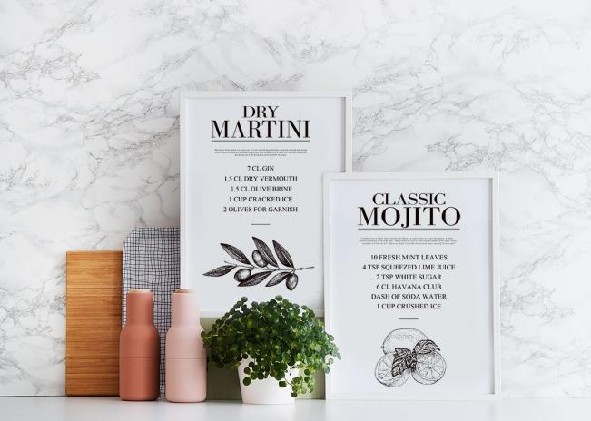 mojito-cocktail-recipe-poster